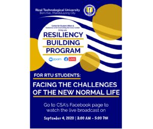 RESILIENCY BUILDING PROGRAM