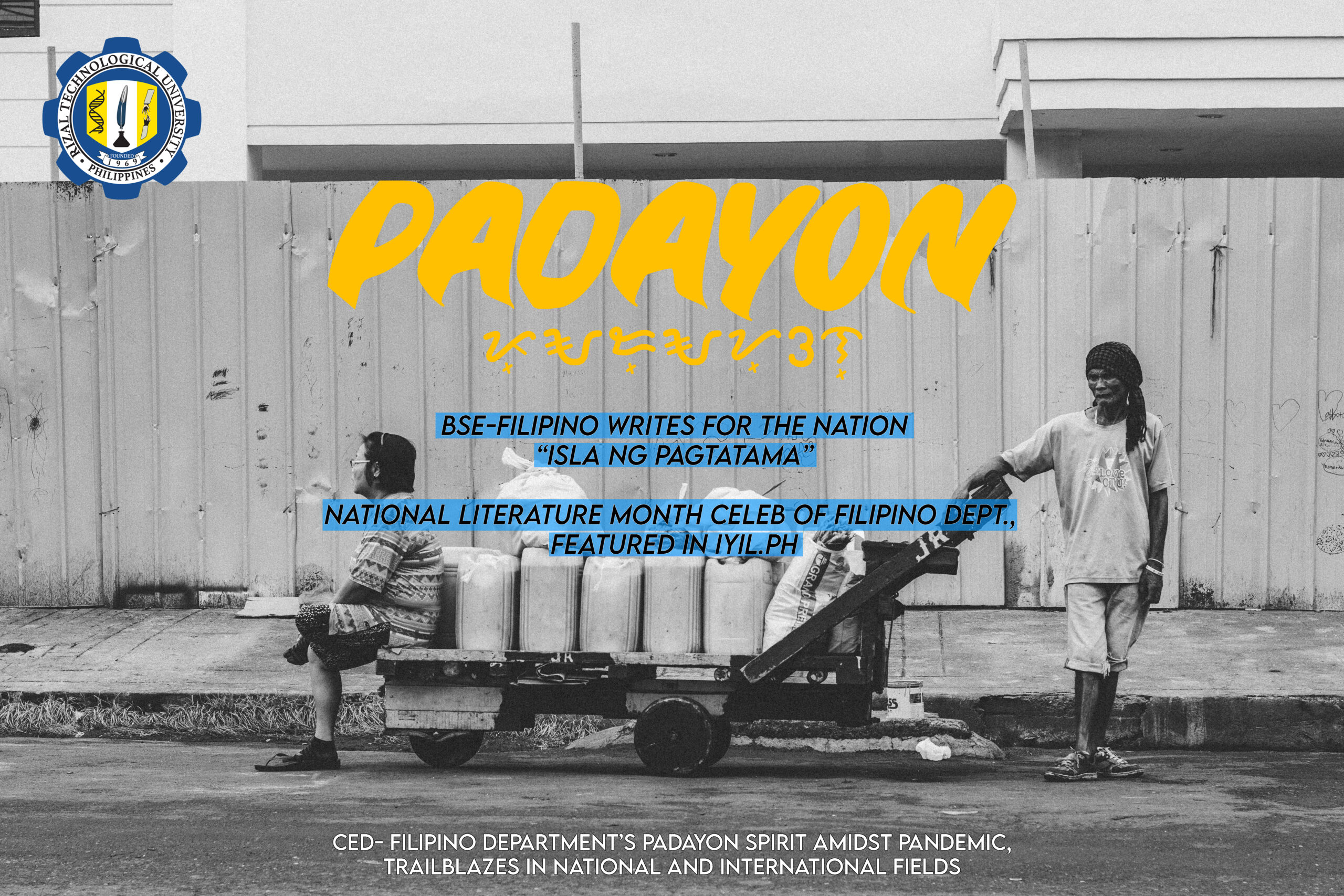 CED- Filipino Department's Padayon Spirit Amidst Pandemic, Trailblazers in National and International Fields