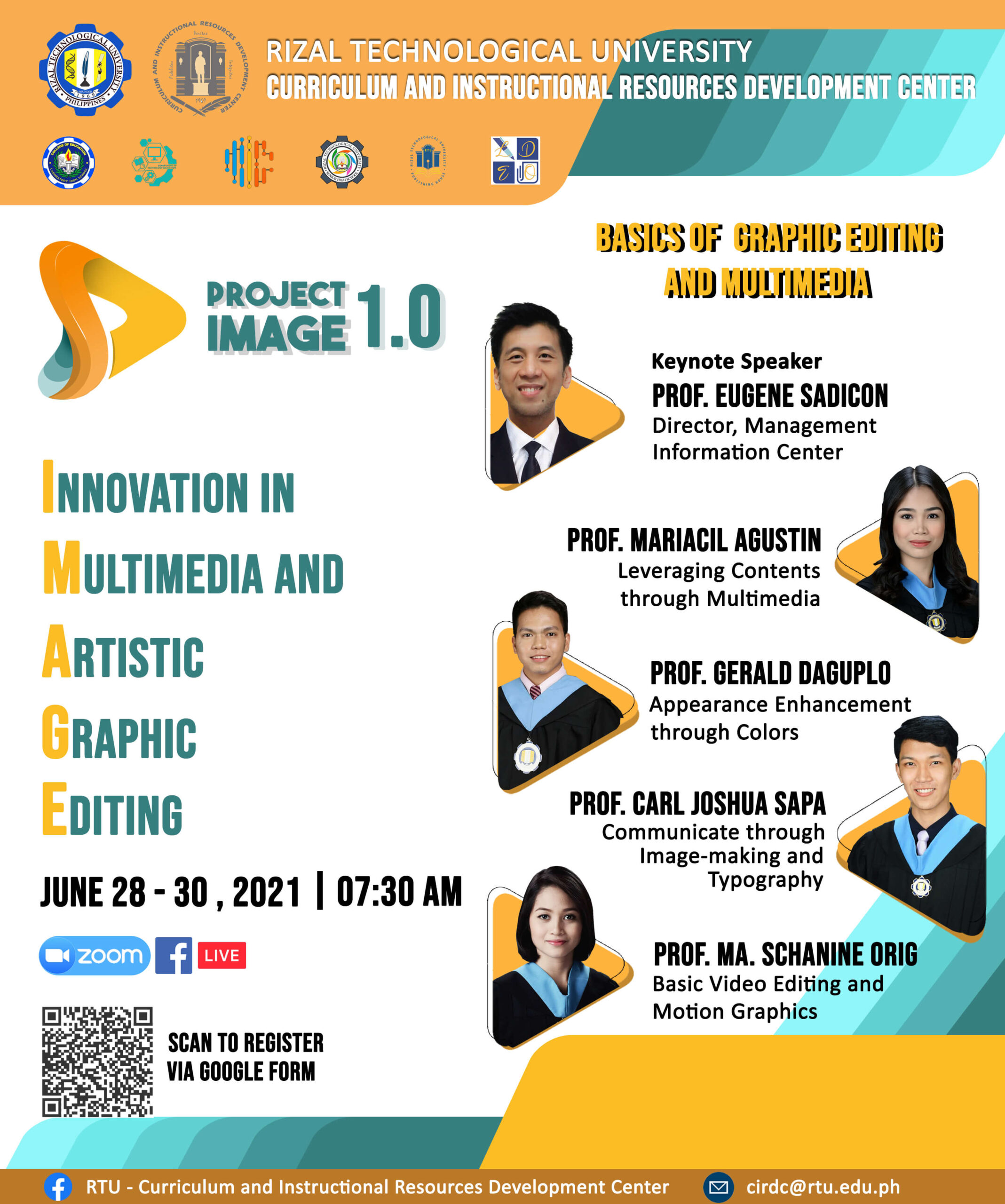 Project IMAGE 1.0: Innovation in Multimedia and Artistic Graphic Editing