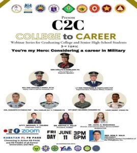 Read more about the article COLLEGE TO CAREER WEBINAR SERIES UPDATE