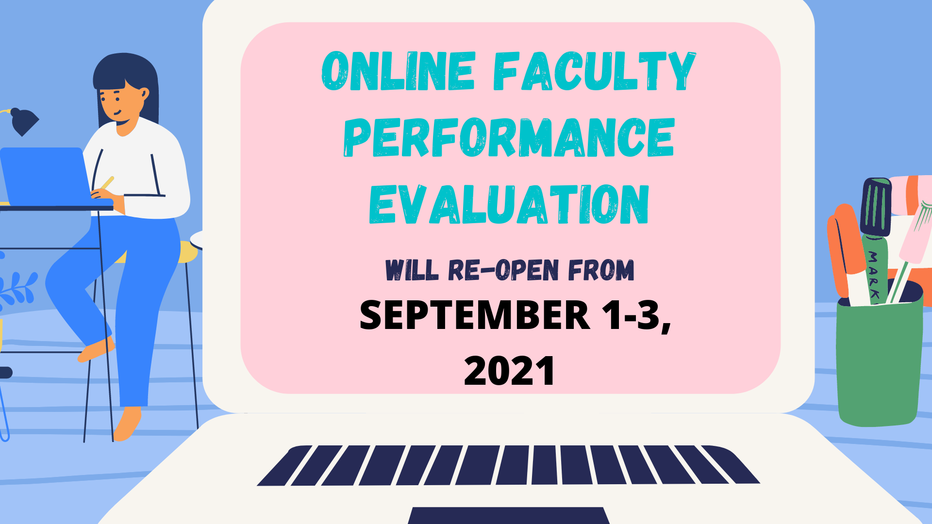You are currently viewing ONLINE FACULTY PERFORMANCE EVALUATION