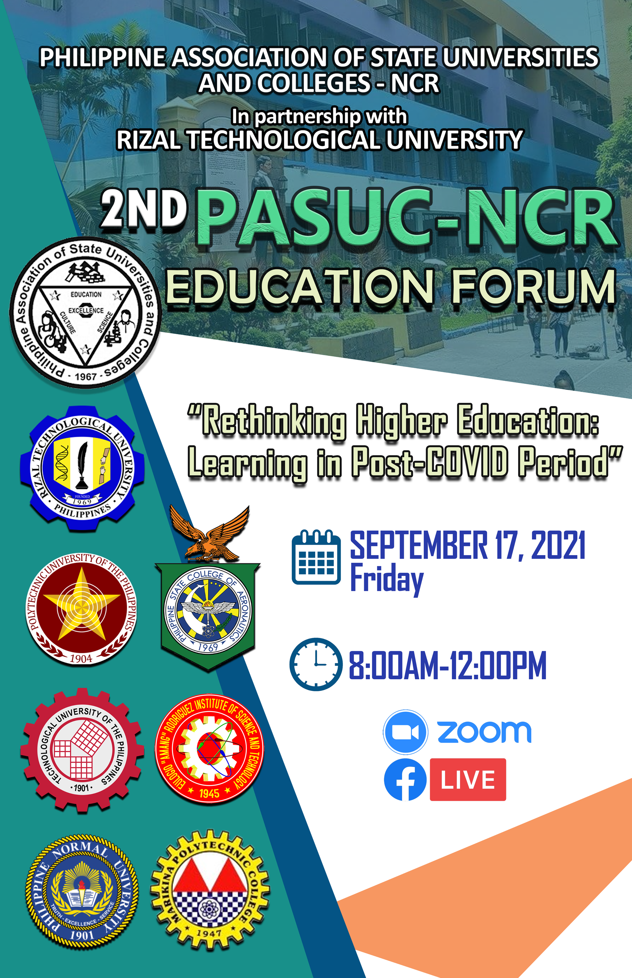 You are currently viewing 2nd PASUC-NCR EDUCATION FORUM